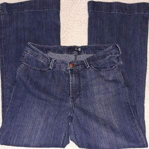 Seven7 jeans.  Blue denim. Size 12